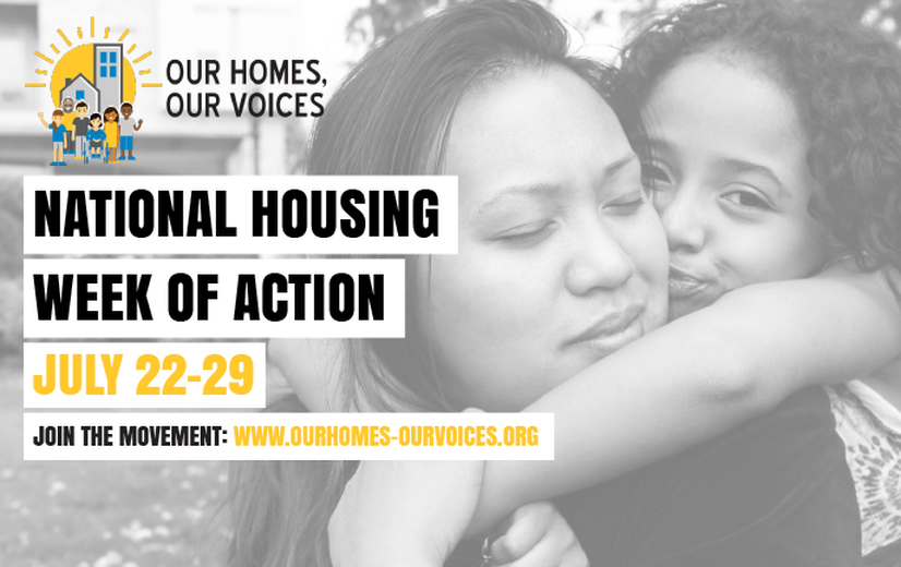 National Week of Housing Action – July 22-29