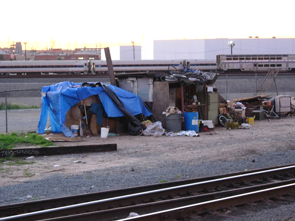 Growing homeless camps contrast with West Coast tech wealth