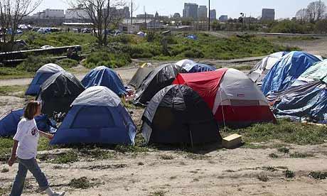 National homelessness rises