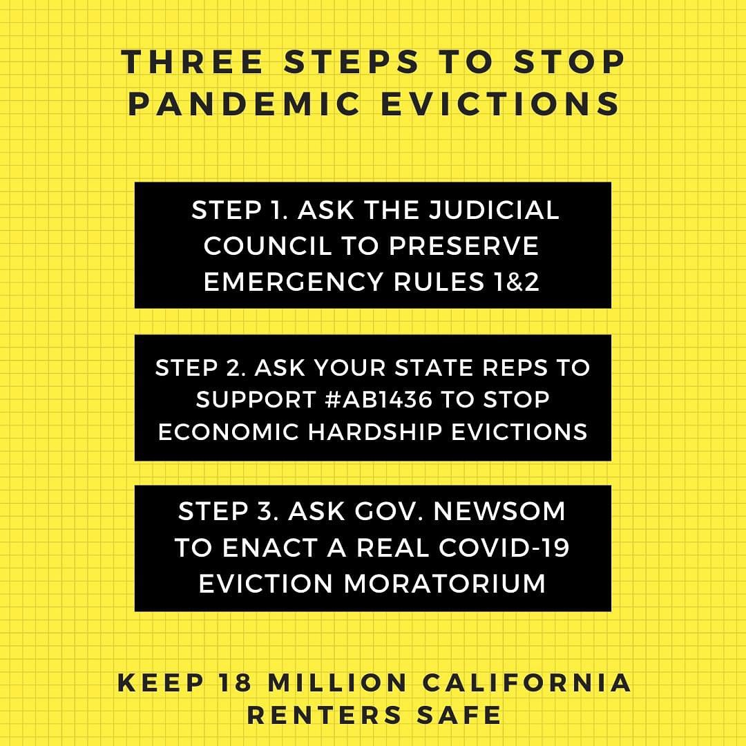 Three Steps to Stop Pandemic Evictions